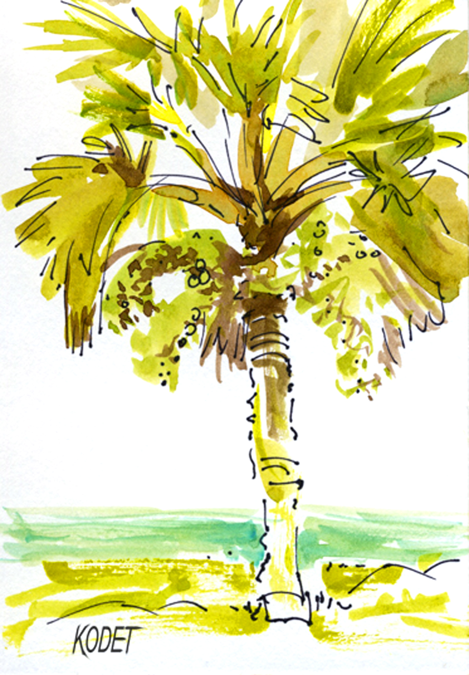 ink palm